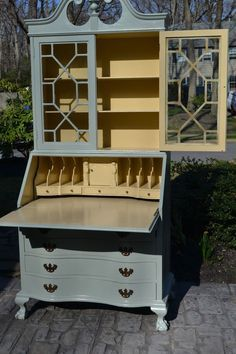 painted secretary desk - Google Search