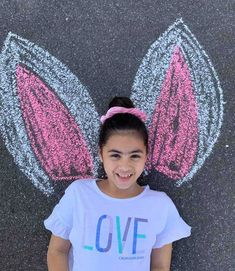 What a Perfect way to spread smiles across your kids this Quarantined Easter with some fun chalk art! Easter 2020, Chalk Art, Creative Kids, Some Fun, Art For Kids, Activities For Kids, T Shirts For Women, Ideas, Art For Toddlers