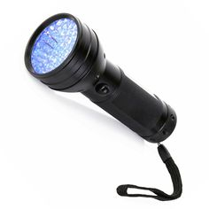 Qiorange Newest UV Ultra Violet Flashlight, UV Black Light, Pet Urine Odor and Stain Detector, 51 UV LED's Flashlight,3 AA,Handheld UV Flashlight *** You can find more details by visiting the image link. (This is an affiliate link and I receive a commission for the sales) #Pets