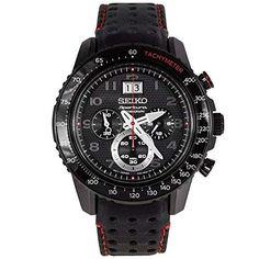 87f6d762706f Seiko SPC141P1 Sportura Mens Watch - Black Dial Review
