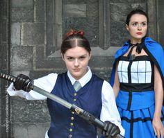 From the original photo shoot. Female Tardis, Photos by Caroline Walsh 2013.
