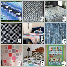 Quilting up for winter! Are you ready to brave the storm? Find out what kind of quilt to make with the help of this amazing roundup.