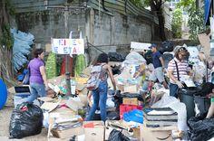 Varias veces al año la Feria Yo Reciclo viene al parque... lleva tu papel, aluminio, o basura electronica!