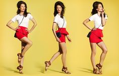 Pretty in peplum. Stylist Petra Flannery styles 5 summer looks for Target. #TargetStyle