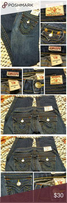 dea486e7 True Religion Jeans Size 26 Waist 2 Petite True Religion Jeans size 26p  waist equates to