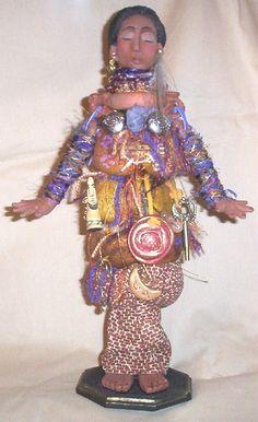 Sarana, The Healing Goddess 14 inch e-Class -JacqueUetz