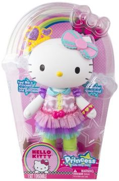 Hello Kitty Princess Large Doll 90037 for sale online Hello Kitty Merchandise, Disney Princess Nails, Hello Kitty Toys, Princess Kitty, Doll Divine, Miraculous Ladybug Memes, Hello Kitty Collection, Baby Girl Dolls, Dolls For Sale