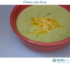 We had a lot of leeks leftover from another recipe so we decided to make potato leek soup. This crockpot recipe is easy to make and so yummy!