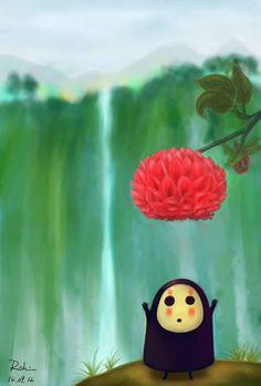     Hayao Miyazaki Studio Ghibli Spirited Away No Face