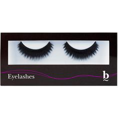 BBrowBar Strip Lashes Smokey ($17) ❤ liked on Polyvore featuring beauty products, makeup, eye makeup and false eyelashes
