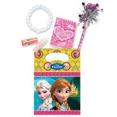 Disney Frozen Filled Party Bag. #disneyfrozen #frozengifts #frozenmerchandise #frozenthemovie #frozen #birthday #gift