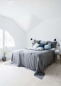 Au Lit Fine Linens | Beautiful Beds: Minimal