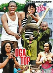 Just as soon as 'Oga At The Top' started trending then Nollywood produced their own version with Nkem Owoh and Funke Akindele