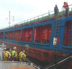 Hoek van Holland - Medevac van tanker