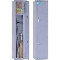 ОШН - односекционный оружейный сейф (шкаф) на 2 ружья высотой до 980 мм.