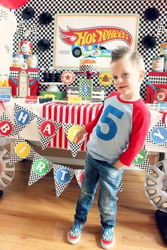 We Heart Parties: Hot Wheels Birthday Party