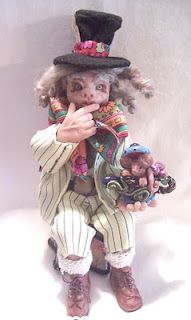 Mad Hatter and the Dormouse from my Alice series
