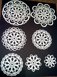 Doily die ideas