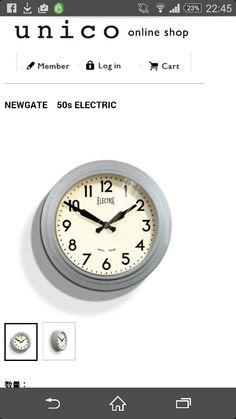 unico 壁掛け 時計