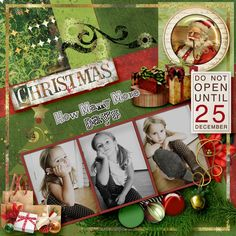 Layout by sanra. Kits: Hey Ho Happy Christmas by Elizabeth's Market Cross http://scrapbird.com/designers-c-73/d-j-c-73_515/elizabeths-market-cross-c-73_515_513/hey-ho-happy-christmas-p-18421.html?zenid=5um678f8u2onn13v5eu76vmqc7 AND other various kits