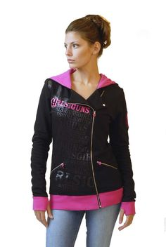 GWG Zip Up Hoodie | Sale | Girls with Guns Clothing