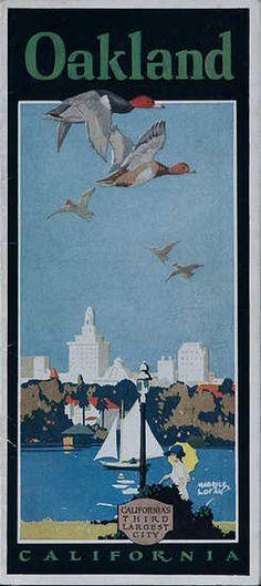 Oakland California ca 1920s by Maurice Logan