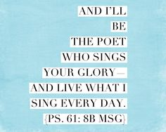 | Psalm 61:8b | /// yes Psalm 61, Bible Scriptures, Christian Quotes, Singing, Memories, God, Woman, Heart, Memoirs