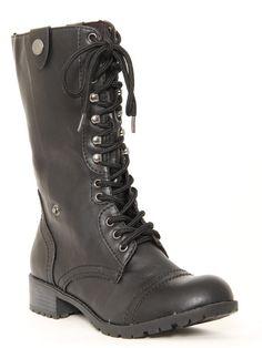 Foldover Combat #Boots