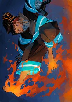Fire Force, Shinra Kusakabe, HD Mobile and Desktop wallpaper resolutions. Manga Anime, Anime Art, Otaku Anime, Fire Brigade Of Flames, Shinra Kusakabe, One Punch Man, Super Anime, Cute Chibi, Fire Emblem