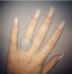 Diamonds, nails, Khloe Kardashian