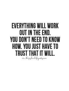 I tell myself this everyday