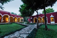HOTEL HACIENDA TICUM : Part of the first building rebuilt called Casa de los Dueños