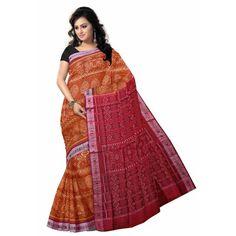 Alpana Design cotton sarees.