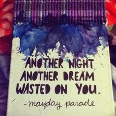 Love love love the idea of melted crayons and a quote on canvas :)