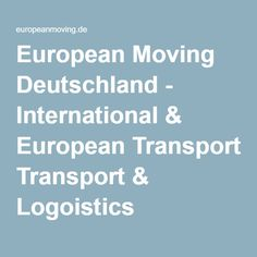 European Moving is an experienced low-cost removals company operating across Europe. European Transport, Free Quotes, United Kingdom, How To Remove, The Unit, Germany, England