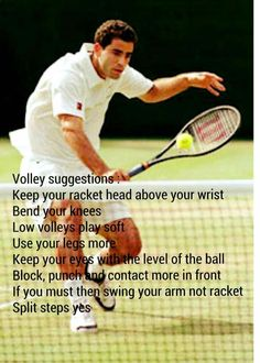 Tennis Lessons, Tennis Quotes, Rackets, Tennis Racket