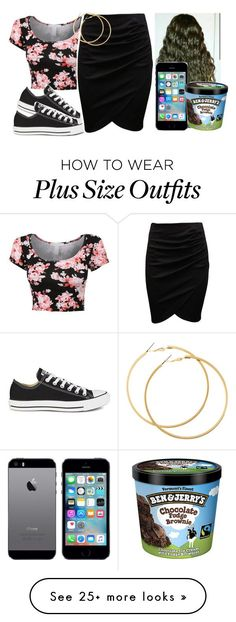 """Untitled #424"" by tanaisha on Polyvore featuring Converse and H&M"