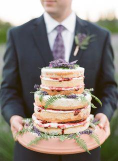 Woodinville Lavender Farm Wedding Ideas. Lavender wedding cake. Yum! Gorgeous Cakes, Pretty Cakes, Wedding Desserts, Wedding Cakes, Yummy Treats, Delicious Desserts, Sweet Treats, Chocolates, Lavender Cake