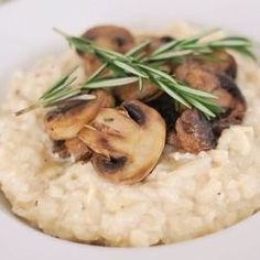 smoked gouda risotto with mushrooms...sounds.so.good