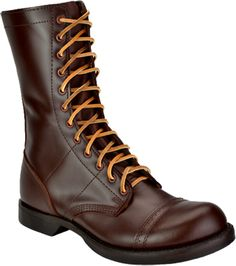 "Men's Corcoran Military Boots 1510 | 10"" Historic Leather Jump Boots"