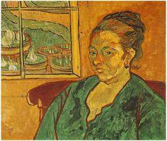 Portrait of Madame Augustine Roulin, Vincent van Gogh