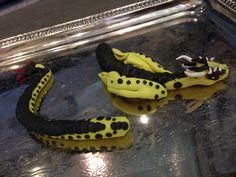 Black and yellow dragon