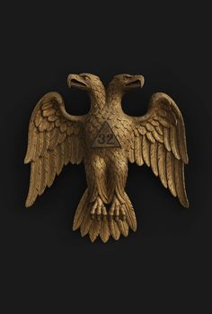 Mystery and Benevolence: Masonic and Odd Fellows Folk Art from the Kendra and Allan Daniel Collection Fenix Bird, Antic Jewellery, Cultural Artifact, Double Headed Eagle, Odd Fellows, Mickey Mouse Wallpaper, Banner Background Images, Demon Art, Eagle Logo