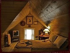 attic bedroom ♥