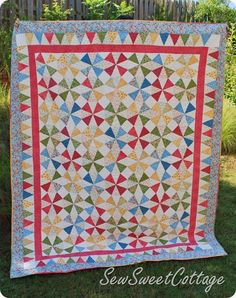 some day I'll have the guts to piece a quilt like this