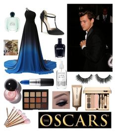"""My baby and I at the Oscars #2023"" by the-arts-combined ❤ liked on Polyvore featuring James Bond 007, Morphe, Herbivore, Nude by Nature and MAC Cosmetics"