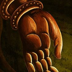 luckydonkey | Rakuten Global Market: Contemporary art in modern canvas art painting wall hanging painting big abstract paintings 3 1 set manga Buddha hand Buddha Buddha Dainichi Buddha lotus flowers ordered ships will point at around 2-3 weeks