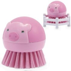 Pig Dish Brush $10.00