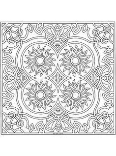 mandala_33 disegni da colorare per adulti e ragazzi
