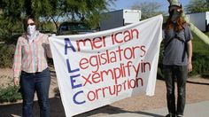Five more corporations abandon the 'bill mill' ALEC  Amid complaints from liberal and progressive groups, five corporations have dropped their support for the right-wing policy group called the American Legislative Exchange Council.  General Electric, The Western Union Company, Sprint Nextel Corporation, Symantec Corporation, and Reckitt Benckiser Group all told Color Of Change that they no longer supported ALEC.